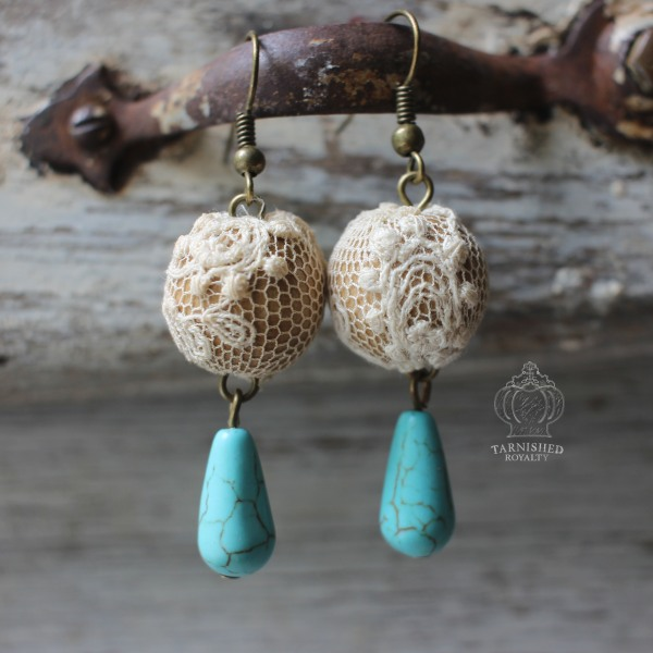 lace_ball_turquoise_drop_earrings